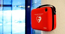A defibrillator is a lifesaving piece of equipment that can increase the chance of heart attack survival by up to 40%.