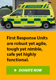 Help us fund First Response Units