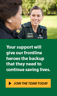 Your support will give our frontline heroes the backup that they need to continue saving lives.