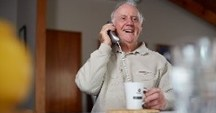 Find more about the free Caring Caller service and other programmes that help people in many ways.