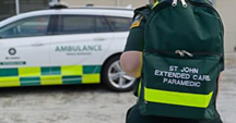 More about working with St John Extended Care Paramedics.